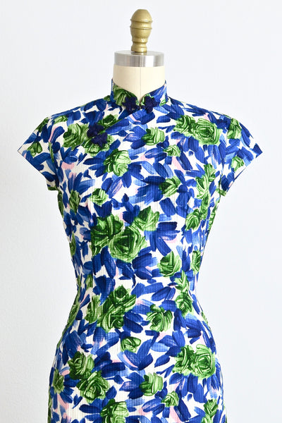 New! - Floral Cheongsam - Pickled Vintage