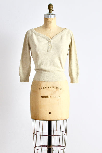 1950s Sweater Top - Pickled Vintage