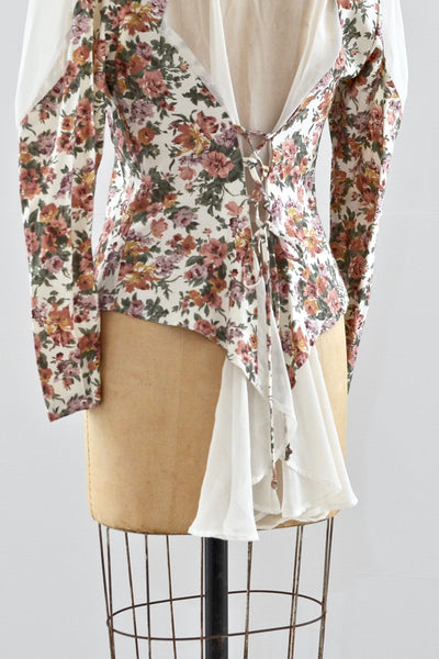 Floral Top - Pickled Vintage