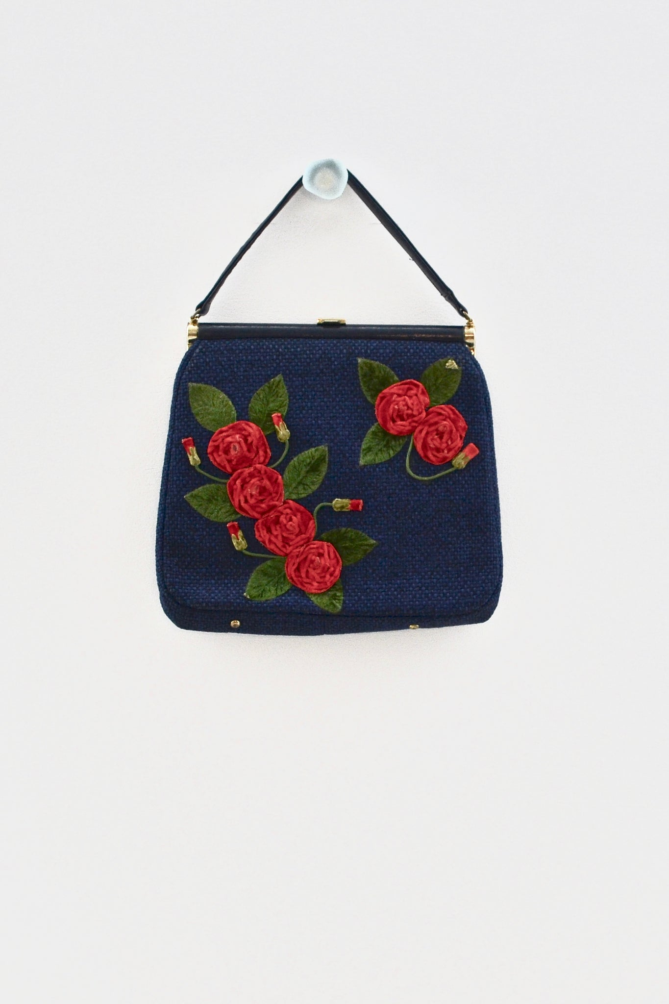 Rose Tapestry Purse - Pickled Vintage