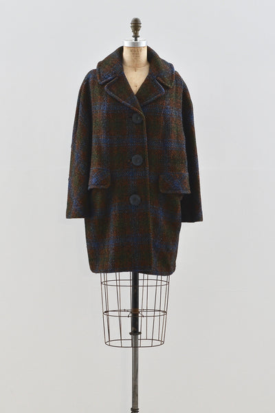 1950s Wool Coat - Pickled Vintage