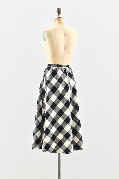 Wool Skirt - Pickled Vintage