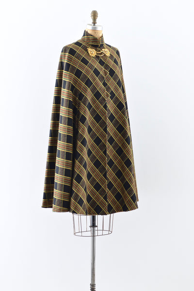 1950s Mitered Cape - Pickled Vintage
