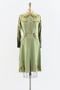 Rare 1940s Western Wear Cowgirl Suit