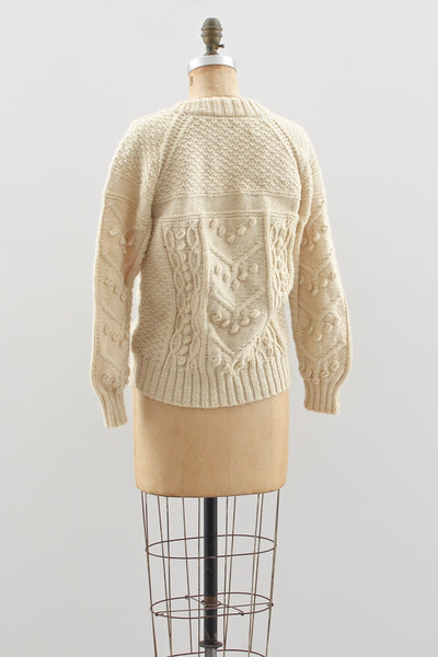 Popcorn Sweater - Pickled Vintage