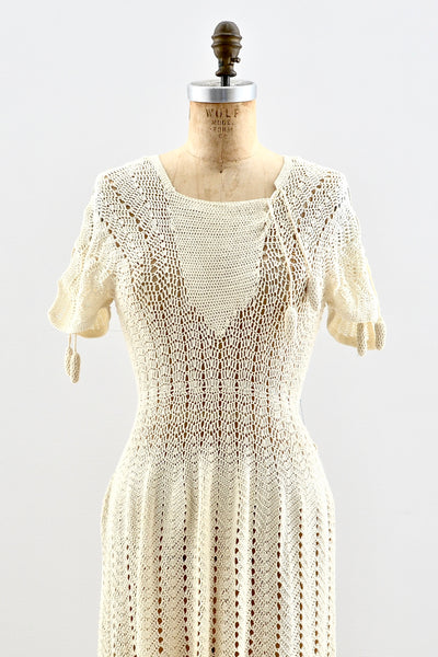 Darling Crochet Dress