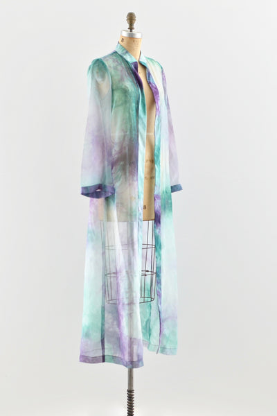 Lillie Rubin Tie Dye Coat - Pickled Vintage
