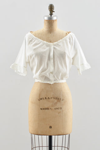Edwardian Top - Pickled Vintage