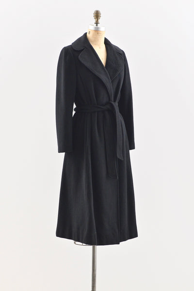 Cashmere Wrap Coat - Pickled Vintage