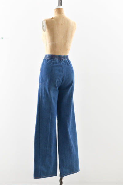 1970s High Waisted Jeans - Pickled Vintage