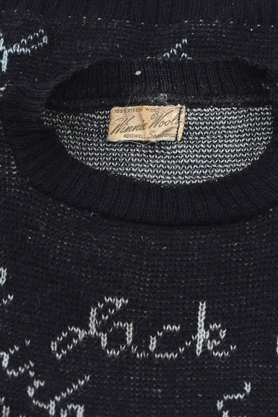 Rare 1930s Autograph Sweater - Pickled Vintage