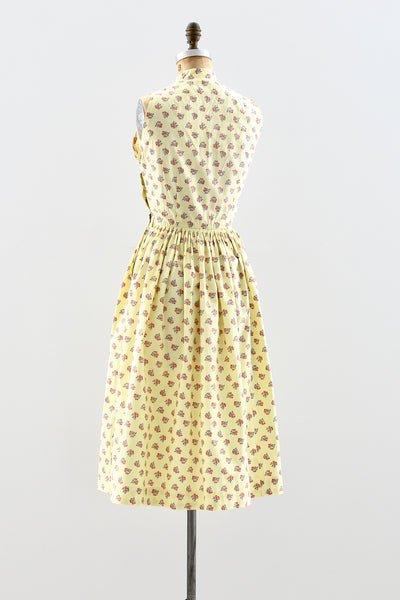 1950s Smocked Dress - Pickled Vintage