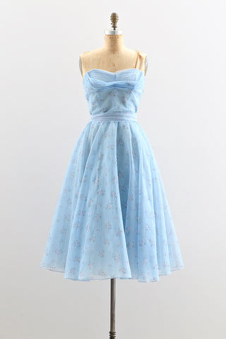 1950s Emma Domb Party Dress - Pickled Vintage