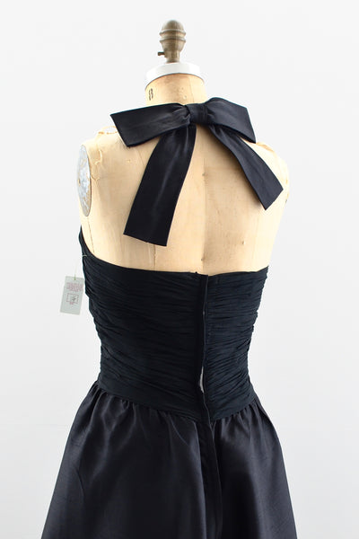 1960s Halter Neck Party Dress