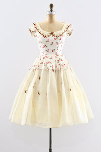 1950s Strawberry Dress