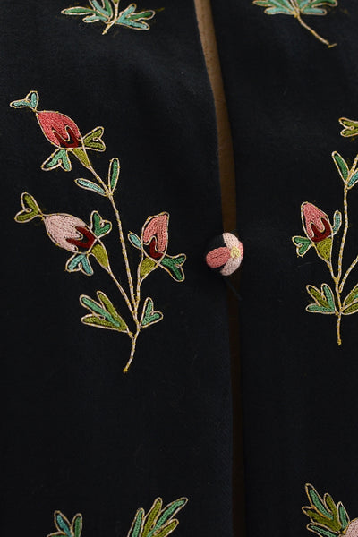 1950s Embroidered Cape