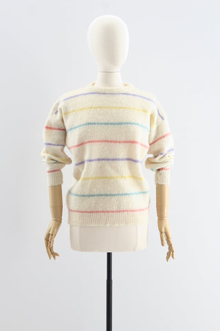 Vintage Multi Striped Sweater