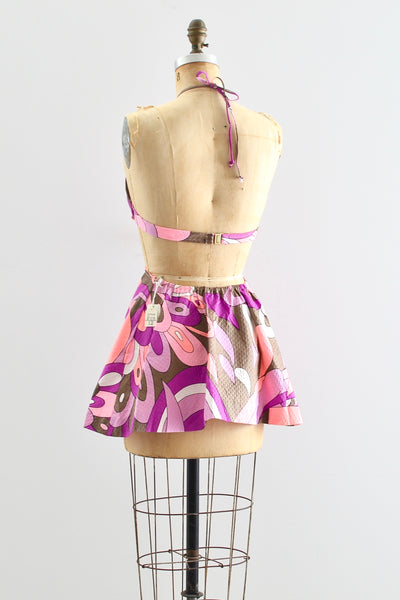 1960s Cutout Mini dress