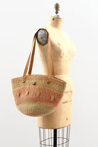 Sisal Jute Bag - Pickled Vintage