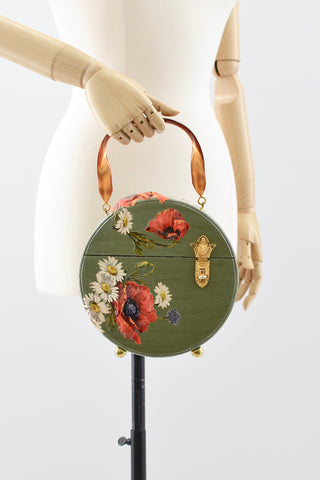 Floral Box Purse - Pickled Vintage