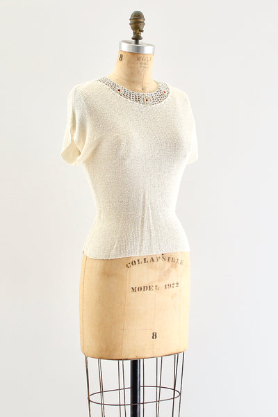 Tish-U Knit Top - Pickled Vintage