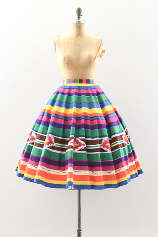 1950s Navajo Skirt - Pickled Vintage
