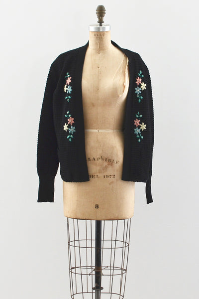 1940s Knit Cardigan - Pickled Vintage