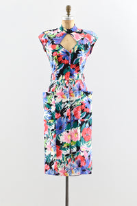Barbara Barbara Cutout Dress - Pickled Vintage