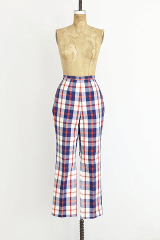 1970s Plaid Pants - Pickled Vintage