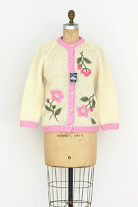 Embroidered Cardigan - Pickled Vintage