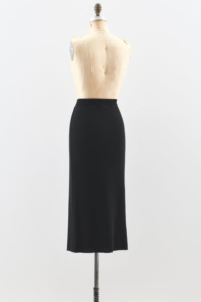 Surplice Knit Skirt - Pickled Vintage