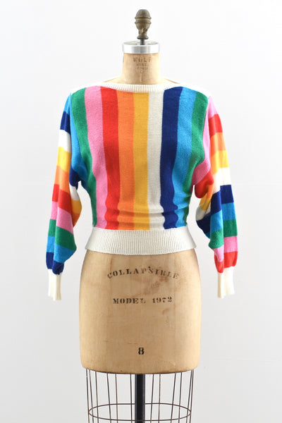 Rainbow Sweater - Pickled Vintage
