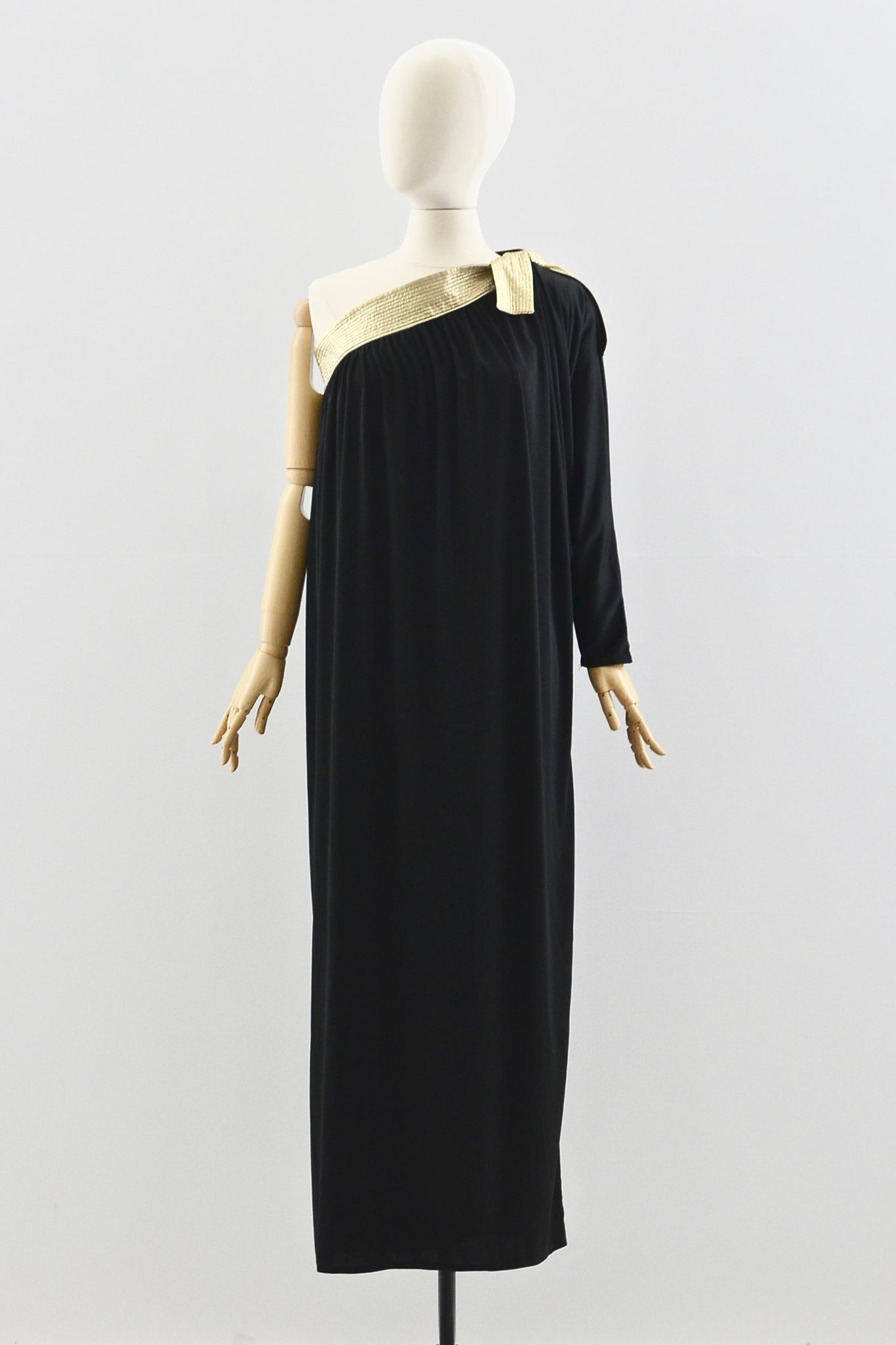70s Bill Tice Grecian Dress - Pickled Vintage