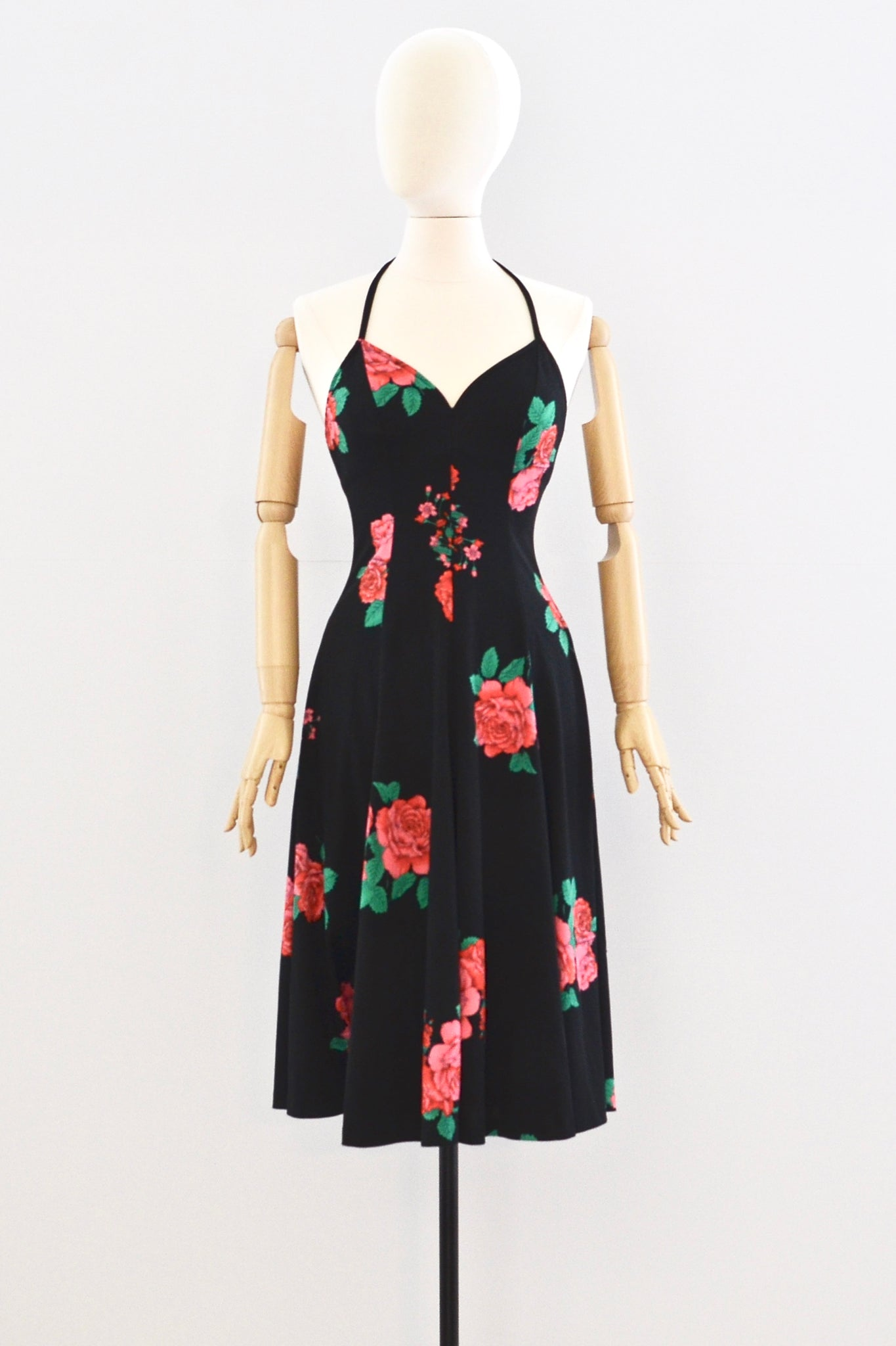 Halter Dress - Pickled Vintage