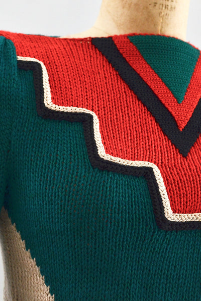 Space Age Sweater - Pickled Vintage