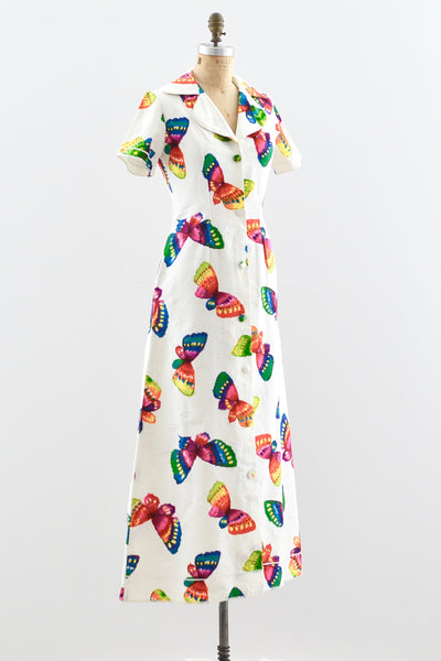 Butterfly Dress - Pickled Vintage