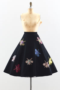 1950s Felt Skirt - Pickled Vintage