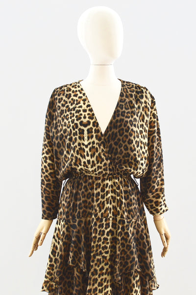 Leopard Dress - Pickled Vintage