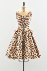 Atomic Print Dress - Pickled Vintage