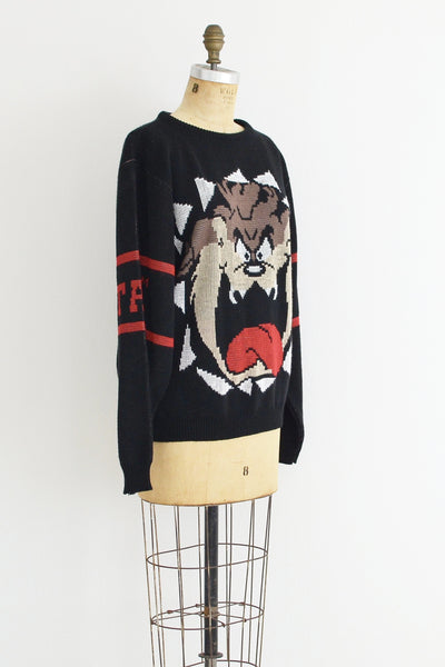 Tasmanian Devil Sweater - Pickled Vintage