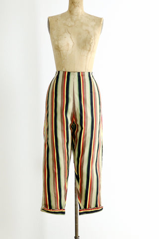 1950s Striped Pants - Pickled Vintage