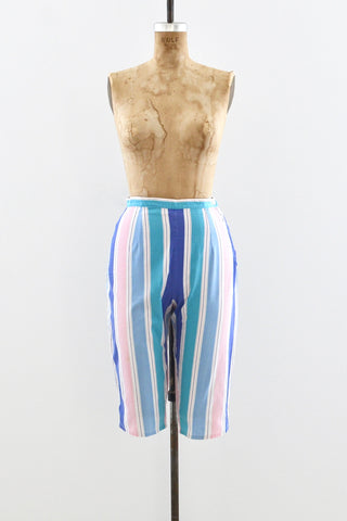 Candy Stripe Capri