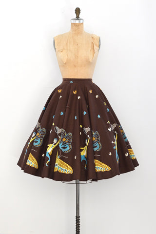 50s Butterfly Catcher Skirt