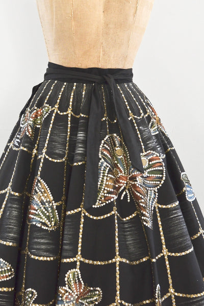 Web & Butterfly Skirt
