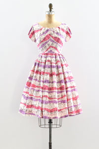 Jitterbug Print Dress