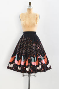 Rooster Print Skirt