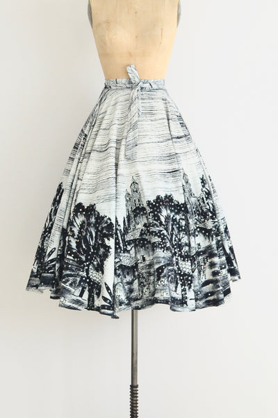 50s Mexican Wrap Skirt - Pickled Vintage