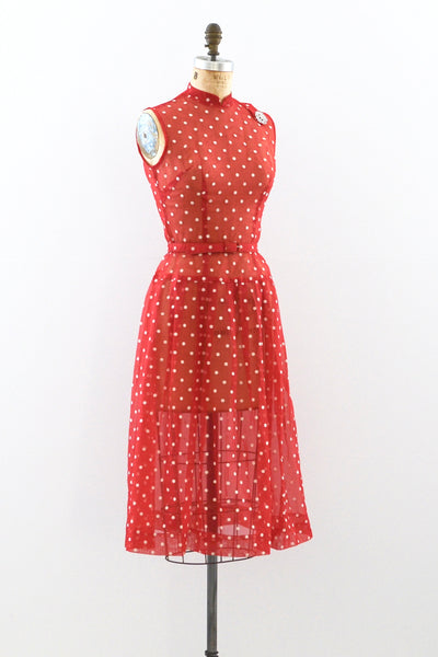 1950s Teena Paige Dress