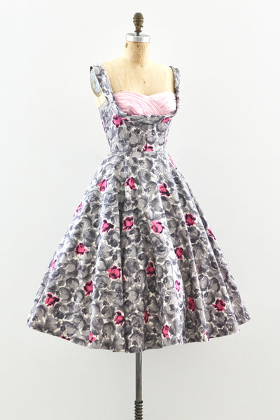 1950s Crumb Catcher Dress