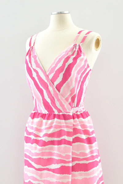 Candy Wrap Dress